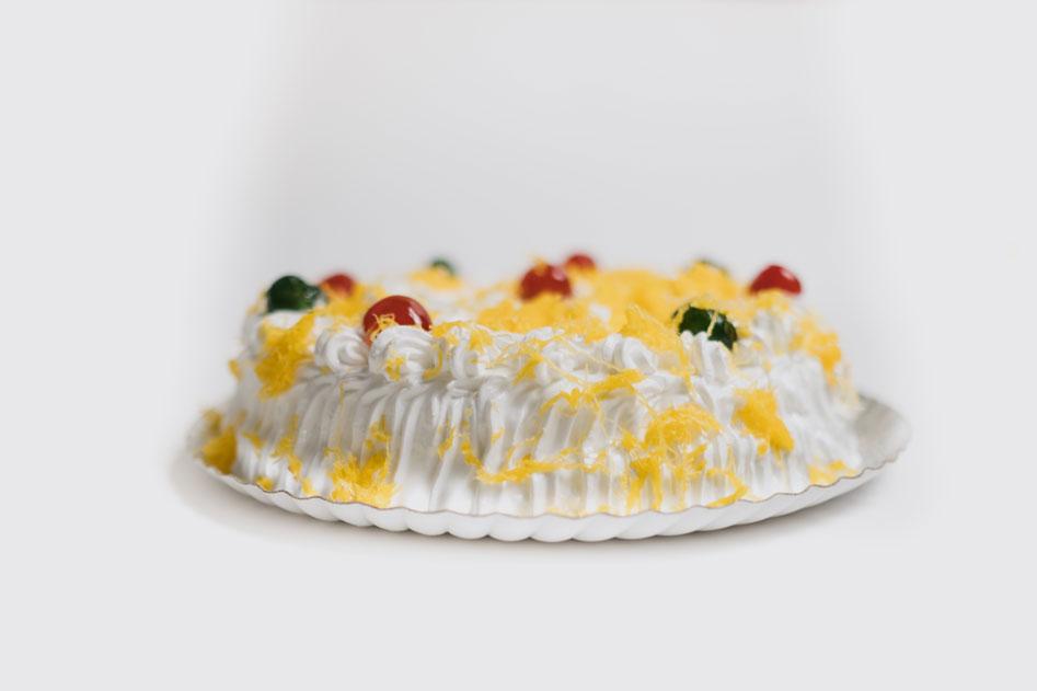 Tarta de merengue artesanal de la Pastelería Eceiza