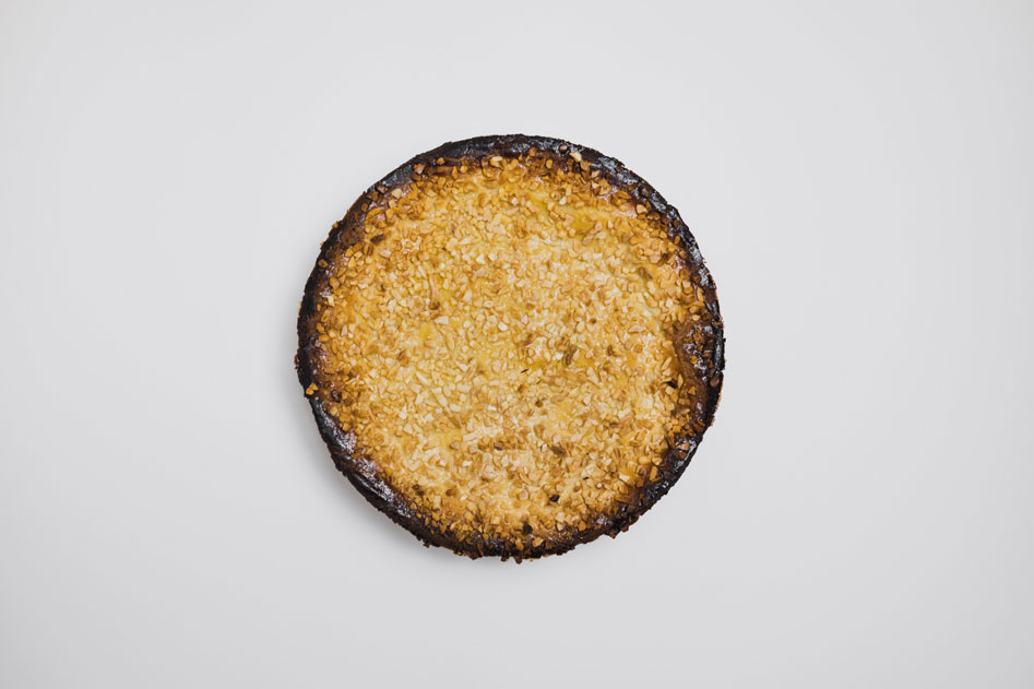 Pastel vasco, de Pastelería Eceiza