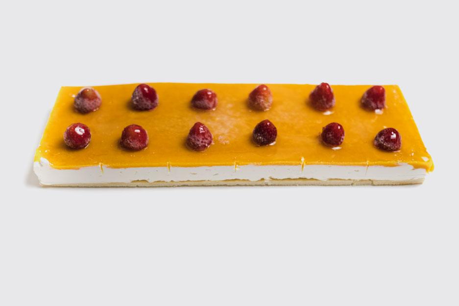 Tarta de queso fresco artesanal, elaborado por Pastelería Eceiza de Tolosa